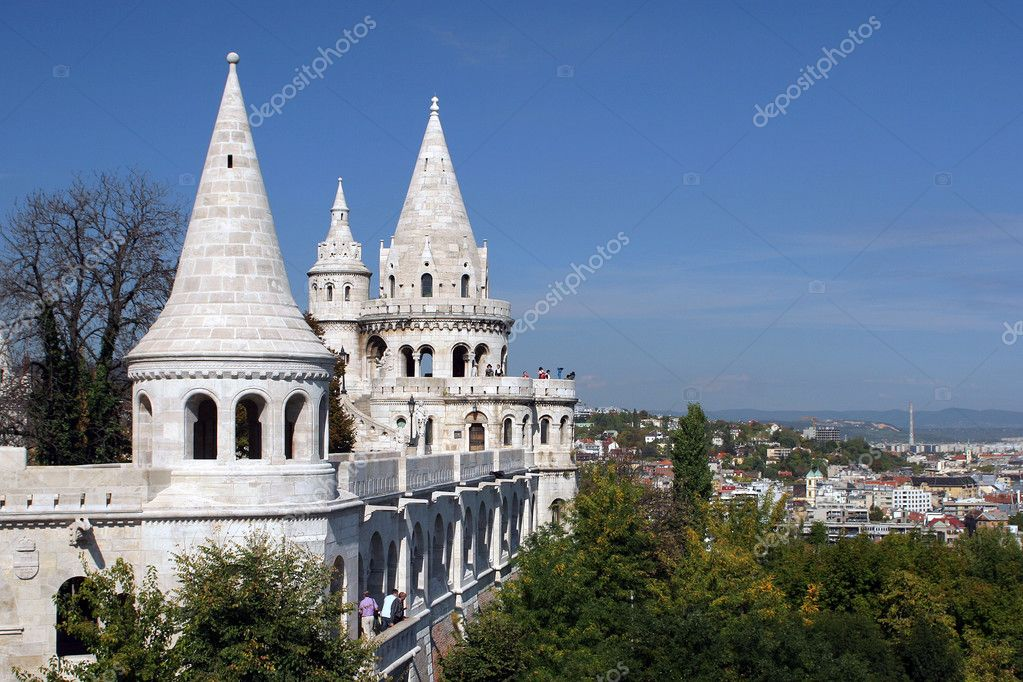 Fishermen's fortress in Budapest — Stock Photo #2752566