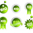 Royalty-Free Stock Vector Image: Collection of green ecology signs