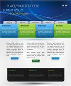 Modèle de vecteur de conception web — Vecteur