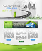 Pagina web design — Vettoriale Stock