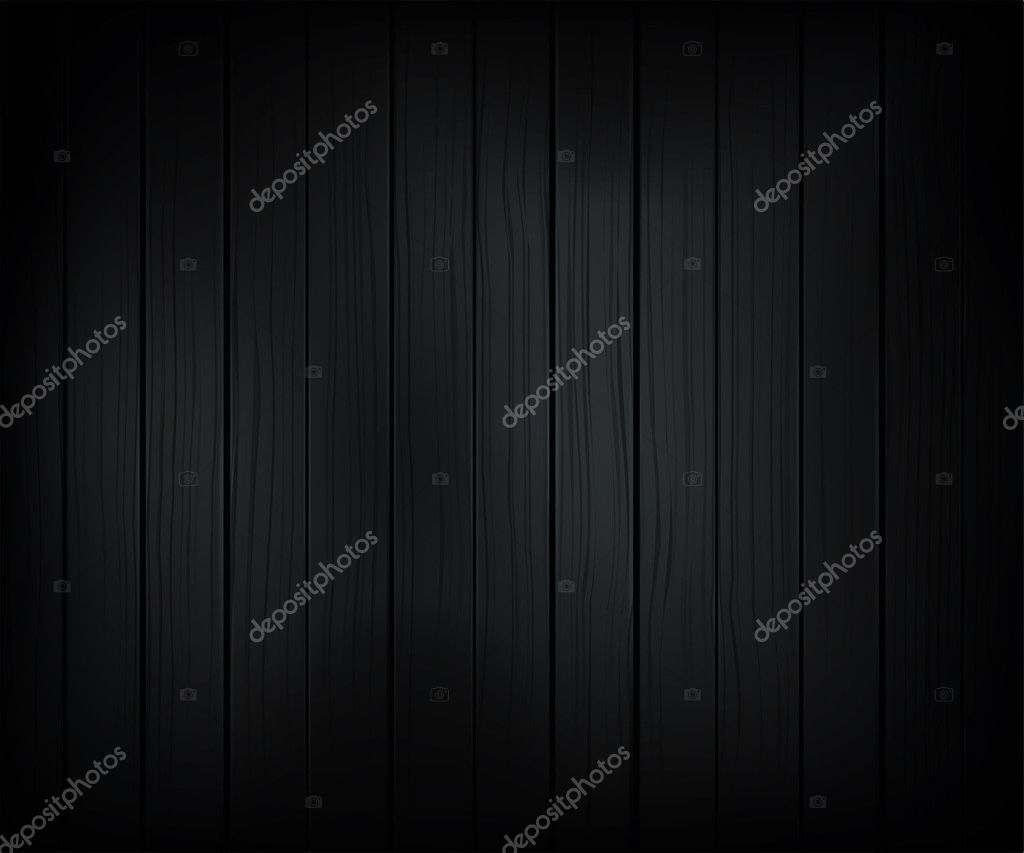 Adjustable vector background made from wooden planks in dark style  Vektorgrafik #2743618