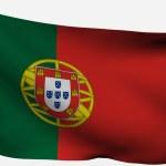 Portugal 3d flag — Stock Photo #2741837