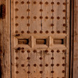 Very old wood door — Stock Photo