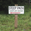 Stock Photo: Steep Path