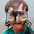 Stock Photo: Dorky Diver 01