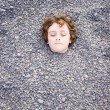Stock Photo: Head in the ground 02