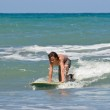 Learning to Surf 01 — Stock Photo #3876347