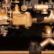 Steam injector - Stock Photo