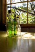 Old glass bottles 02 — Stock Photo
