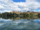 Jezioro tutira 02 — Zdjęcie stockowe