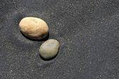Pietra e sabbia — Foto Stock