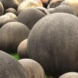Ball shaped stones — Stock Photo