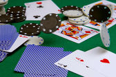Casino poker — Stock Photo
