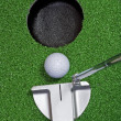 Stock Photo: Putter