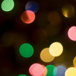 Stock Photo: Blurred Lights