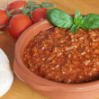 Bolognese meat sauce — Stock Photo