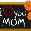 Mother's day message - Stock Vector