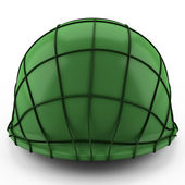 3d USA army Helmet Second World War — Stock Photo