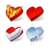 Сердца — Stock Photo