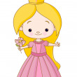 Little princess - Stock Vector