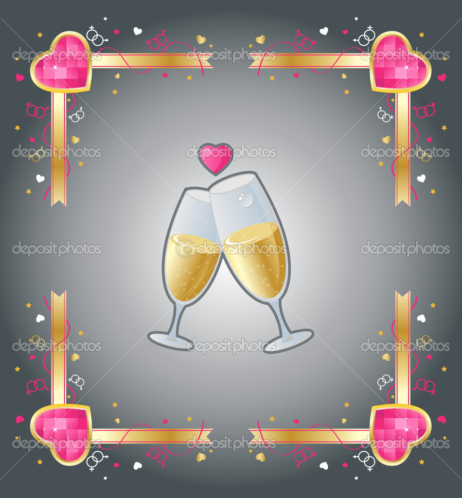 Valentine`s day illustration — Stock Vector #2780076