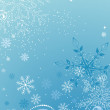 Blue christmas abstract background — Imagen vectorial