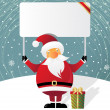 Christmas billboard — Image vectorielle
