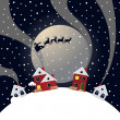 Santa&#039;s Sleigh. - Image vectorielle
