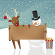 Christmas illustration - Imagens vectoriais em stock