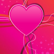 Valentine heart - Imagens vectoriais em stock