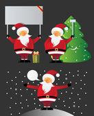 Santa claus — Vector de stock