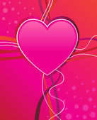 Corazón de san valentín — Vector de stock