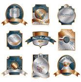 Premios de lujo clásico — Vector de stock