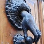 A doorknocker — Stock Photo #2740364