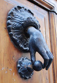 A doorknocker — Stock Photo