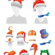 Royalty-Free Stock Vector Image: Christmas and Halloween decorations