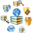 Royalty-Free Stock Vector Image: Concept for books and knowledge