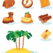 Travel icons — Stock Vector #2744577