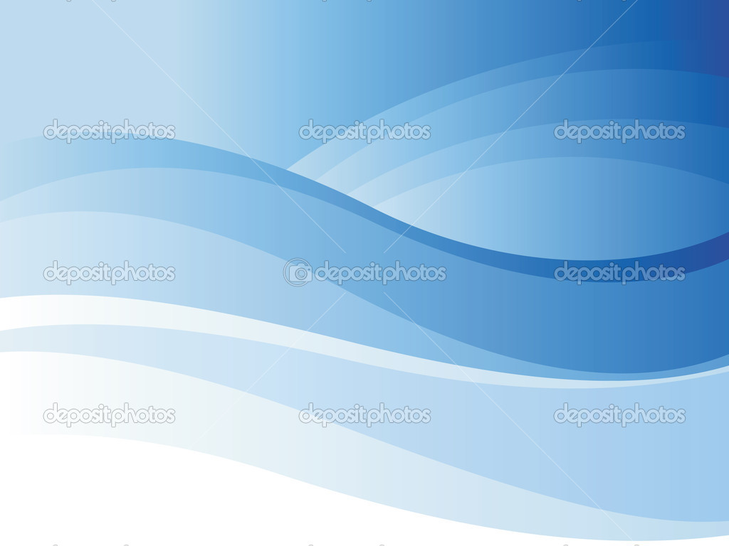 Background of blue wave. Vector illustration. — Imagen vectorial #2744066