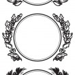 Vector de stock : Garland decorations