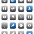 Matt miscellaneous buttons — Stock Vector