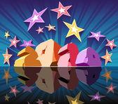 Ano novo 2010 — Vetorial Stock