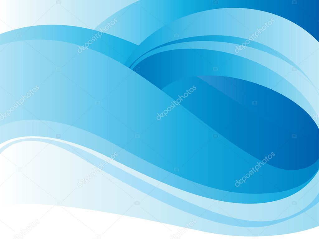 Blue background with loop. Vector illustration. — Stock Vector #2785701