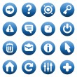Royalty-Free Stock Vector Image: Buttons for interface