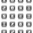 Royalty-Free Stock Vector Image: Black buttons miscellaneous