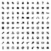 Icone e segni — Vettoriale Stock