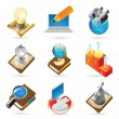 Icon concepts for science — Image vectorielle