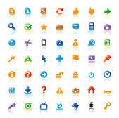 Perfect icons for interface — Stock Vector