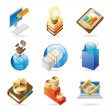 Icon concepts for business — Stock Vector
