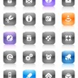 Royalty-Free Stock Vector Image: Multicolored buttons miscellaneous